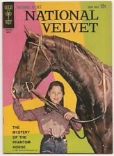 NATIONAL VELVET no. 2 Gold Key Mar. 1963 VF/NM TV Show Lori Martin & Horse Cover