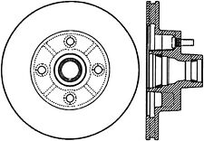 Disc Brake Rotor-Sport Drilled/Slotted Disc Front Left Stoptech 127.62002L