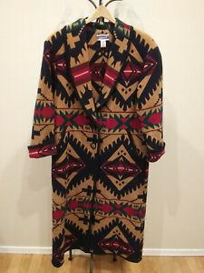 Knockabouts Pendleton Womens Medium Wool Aztec Southwestern Blanket Jacket Coat