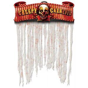 Creepy Carnival Doorway Curtain