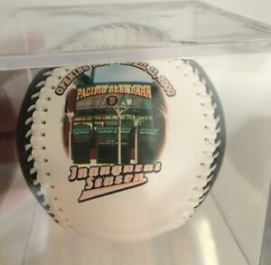 Mint in case SF Giants Opening Day Pac Bell Park 2000 Baseball vs Dodgers MLB