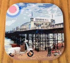Scooter Coaster, Mods Coaster, Brighton Coaster, Quadrophenia Scootering Coaster