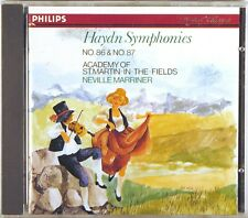 PHILIPS Haydn MARRINER Symphony #86 & #87 (CD, 1986, W. GERMANY) 412-888-2