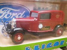 ELIGOR 1218 FORD V8 DELIVERY SEDAN LONGINES 1932 Neuf en boite