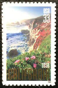 2000 Scott #3438, 33¢, CALIFORNIA STATEHOOD - Single - Mint NH -