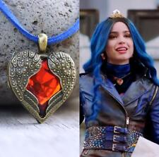 Evie Necklace Red Heart Wings Descendants 3 Fan Gift Costume Cosplay USA 20""