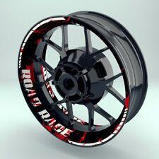 """Felgenaufkleber Felgenrandaufkleber Premium Wheelsticker  """"Road Rage V2"""""""