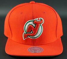 Mitchell & Ness Snapback Hat Cap NHL New Jersey Devils Adjustable VTG Hockey OG