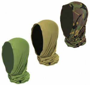 Stretch Fit Special Ops Army Style Trekking Headover Neck Gaiter Tube Scarf