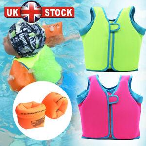 Kids Swim Life Jacket Float Vest Swimming Pool Buoyancy Aid Child WaterSport T