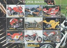 Super Bikes Moto Motos Kawasaki Agusta Easy Rider estampillada sin montar o nunca montada SELLO Sheetlet