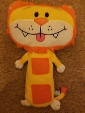 Childrens Car Seat Belt Buddies Soft Toy Pet Travel Pillow - Lion