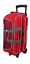Storm 3 Ball Streamline Bowling Roller Bag Red Crackle NEW