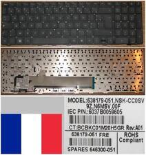 Clavier Azerty Fr HP ProBook 4535S 4530S 4730S NSK-CC0SV 9Z.N6MSV.00F 638179-051