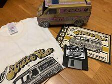 HOUSE Industries Street  FONTS original box set with floppy + T-shirt e catalogs
