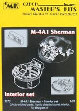 Czech Master 1/35 M4A1 Sherman Early/Late Interior Set for Dragon kit # 3073
