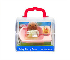 Sylvanian Families Calico Critters Baby Beaver & Bath Tub Carry Case