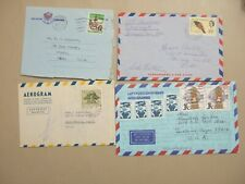 Four aerograms : Germany,Sweden,British Honduras,South Africa
