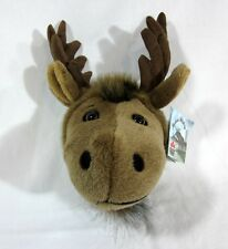 NWT Stuffed Moose Wall Art Northern Wildlife Animal House Kid's Room Cabin Decor