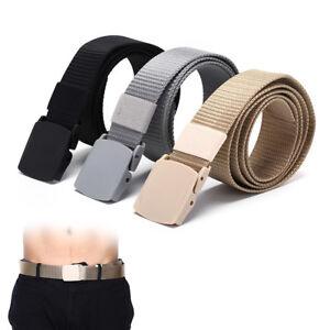 115cm longueur militaire tactique ceinture en plastique boucle en nylon  A_wr