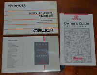 1995 Toyota CELICA Owners Owner's Manual OEM issued book