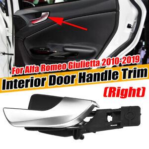 For Alfa Romeo Giulietta 2010-19 RH Right Front Inner Door Handle Interior Trim