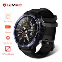 Lemfo LEM12 Reloj inteligente 4G WiFi 3+32GB Smartphone GPS SIM Para Android iOS