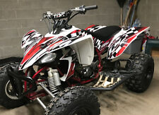 Yamaha YFZ 450 graphics kit 2003 2004 2005 2006 2007 2008 stickers #2500 Red