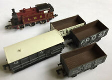 Graham Farish N Gauge 0-6-0 Tank Locomotive with 3 wagons and a guards van