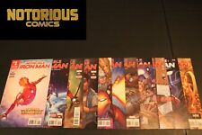 Invincible Iron Man 1-11 Complete Comic Lot Run Set Ironheart Marvel Bendis