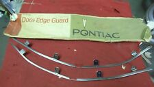 NOS GM 70 1970 FIREBIRD TRANS AM DOOR EDGE GUARDS NEW IN WRAPPER ONE YEAR ONLY