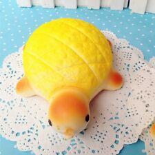 Jumbo Yellow Turtle Squishy phone Straps soft Cute tortoise