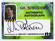 2016 Cryptozoic Ghostbusters John Rothman as Library Admin Autograph Card JRO