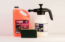 RBL Products Engine Cleaner Kit w/Foaming Action, Spray Bottle & Sponge Included