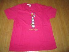 Tee-shirt rose à motif sur l'avant,MC,T 9/10ans,marque Catadel,en TBE