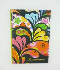 Freundebuch PBS-Factory 00998 Blumenmotiv Din A5