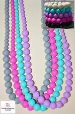 Silicone Sensory Jewellery Mum Necklace Beads and Bracelet Set Autism Sensory