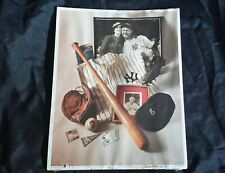 First Edition Print no 6  The Iron Horse  Louis Gehrig