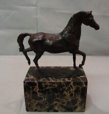 Statue Sculpture Horse Wildlife Art Deco Style Art Nouveau Style Solid bronze