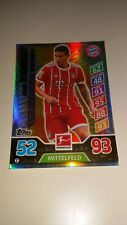 James Rodriguez Bayern München limitierte Auflage  match attax 2017/2018