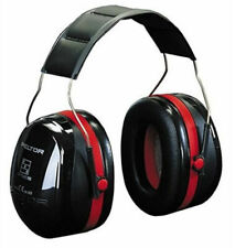3m Peltor Optime III Ear Muffs Headband 35 DB H540a 411 SV Black Red