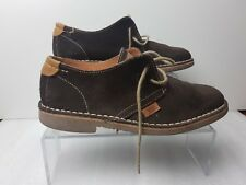 Xti Territory Ladies Brown Suede Flat Shoes Size EU 35 UK 3