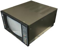 """Vintage Ikegami TM14-17R 14"""" CRT Color Broadcast Display Monitor System TV"""