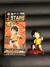 J Stars World Collectable Figure Jump 45th One Piece Monkey D Luffy Japan