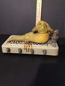 Vintage 1983 Jabba The Hutt Play Set By Kenner