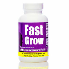 Fast Grow  - Best Hair Vitamins for Faster African American Hair Growth