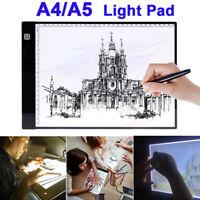 A4/A5 USB LED Artist Tattoo Stencil Board Light Box Tracing Drawing Board Pad