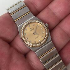 CONCORD Mariner SG diamond bezel / dial & 18k / stainless steel watch bracelet