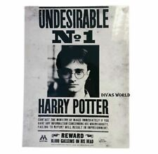 """Harry Potter Photo Frame Poster """"Undesirable No1"""" Mounted Canvas Print Xmas Gift"""