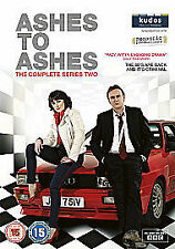 Ashes To Ashes - Series 2 - Complete (DVD, 2011, 4-Disc Set) BBC slim packaging